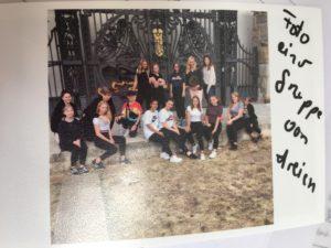 Sekundarschule Jülich mit Dahinter - einem Tanzprojekt über Ängste und Emotionen