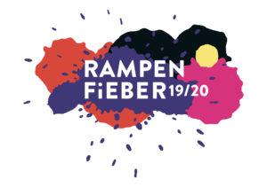 Logo des Rampenfieberfestivals 2019/2020