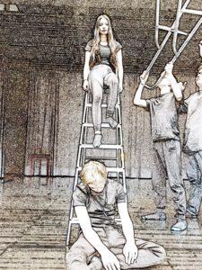 Literaturkurs des Carolus Magnus Gymnasiums setzen sich mit Themen Druck, Idealen und Suizid auseinander