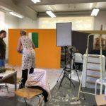 Theaterworkshop im Ludwigforum für eine AR-Galerie