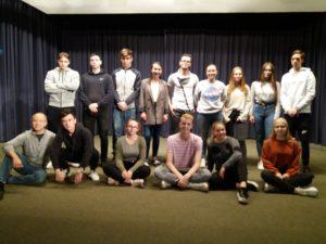 Städt. Gymnasium Herzogenrath mit Antigone, Berlin über das Thema Integration