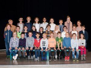 Grundschule Kettenis zeigen ein Stück zum Thema Angst
