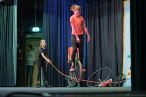 Städt. Gymnasium Herzogenrath mit Zirkus Kunterbunt